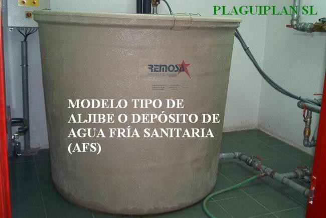 Plaguiplan limpieza desinfecci n de dep sitos y aljibes for Peces de agua fria para consumo humano