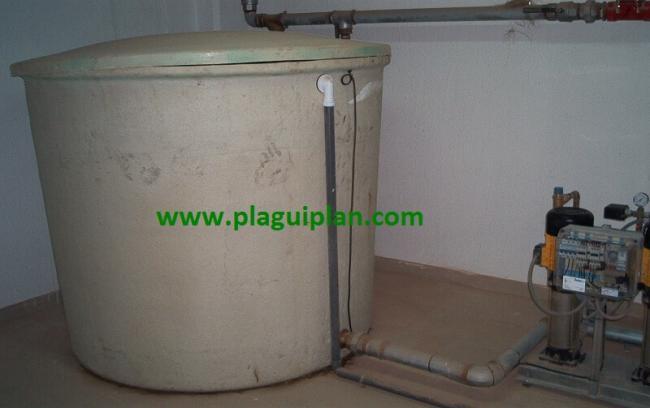 Plaguiplan limpieza desinfecci n de dep sitos y aljibes for Grupo de presion de agua para edificios