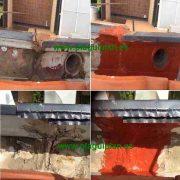 Limpiar y reparar canalones y canaletas de agua