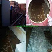Limpieza de torre de refrigeracion para el control de legionella