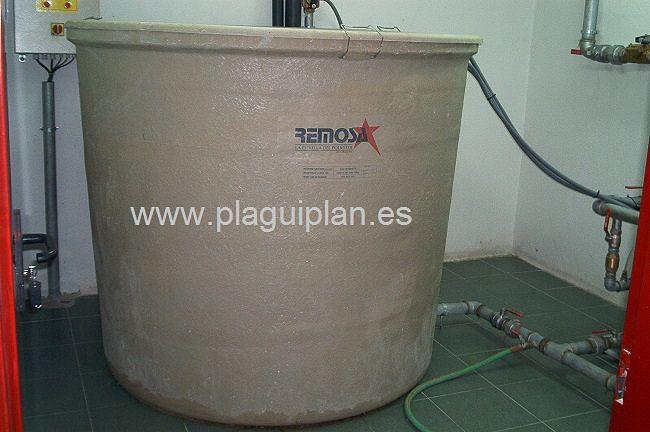 Limpieza, desinfección de depósitos y aljibes de agua (1)