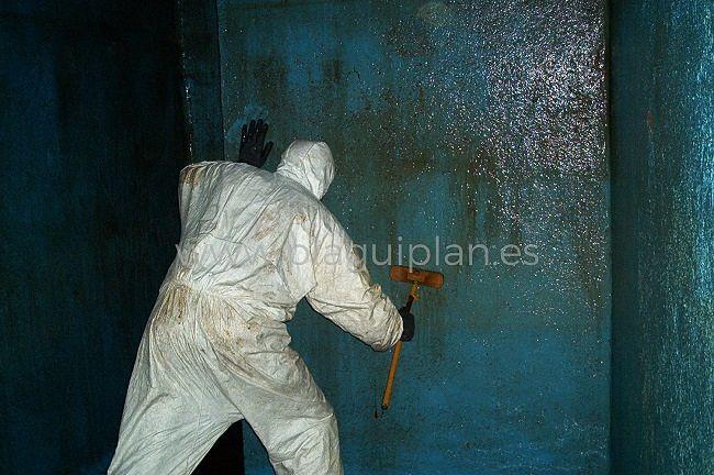 Limpieza, desinfección de depósitos y aljibes de agua (15)