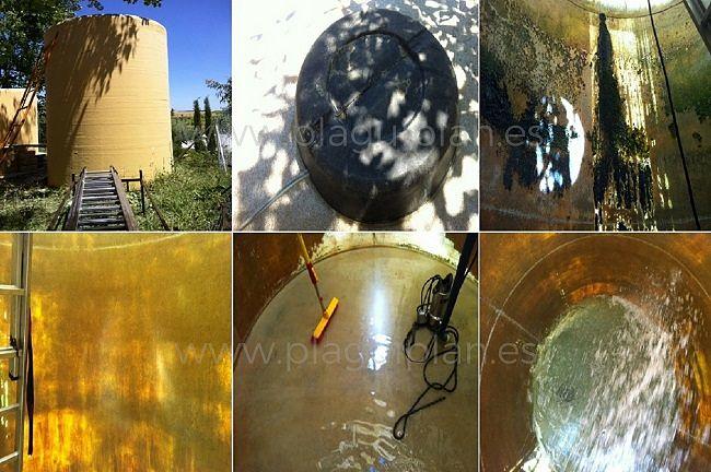 Limpieza, desinfección de depósitos y aljibes de agua (17)