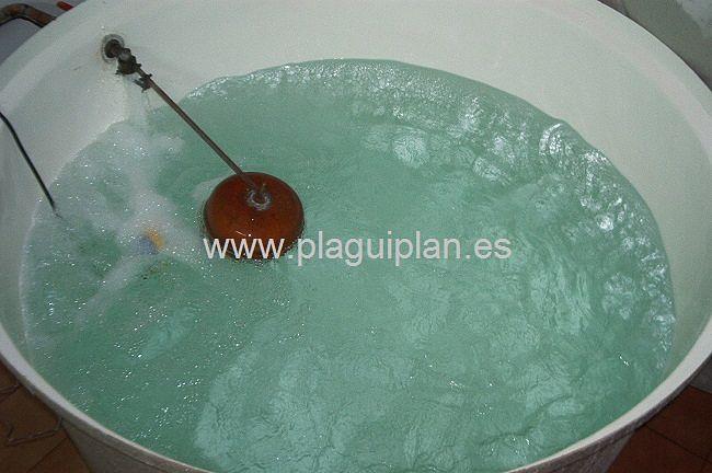 Limpieza, desinfección de depósitos y aljibes de agua (3)