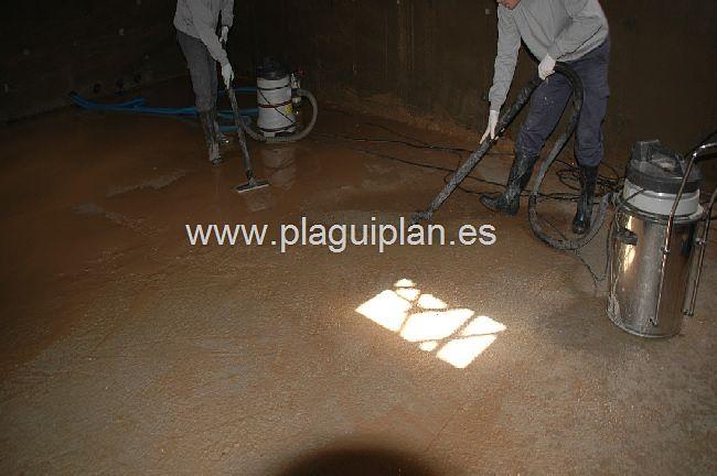 Limpieza, desinfección de depósitos y aljibes de agua (4)