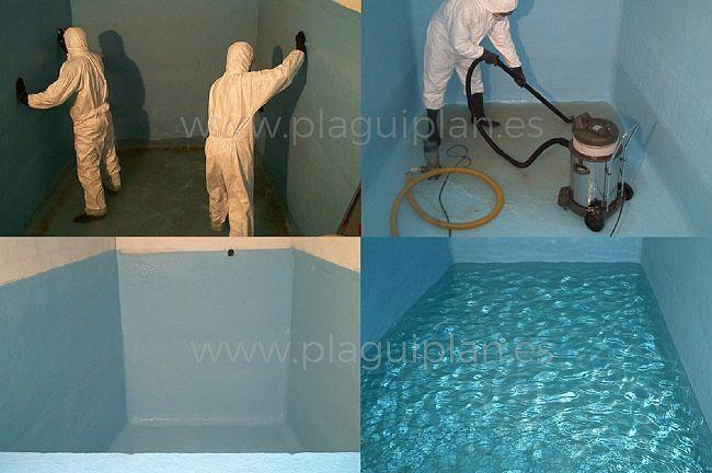 Limpieza, desinfección de depósitos y aljibes de agua