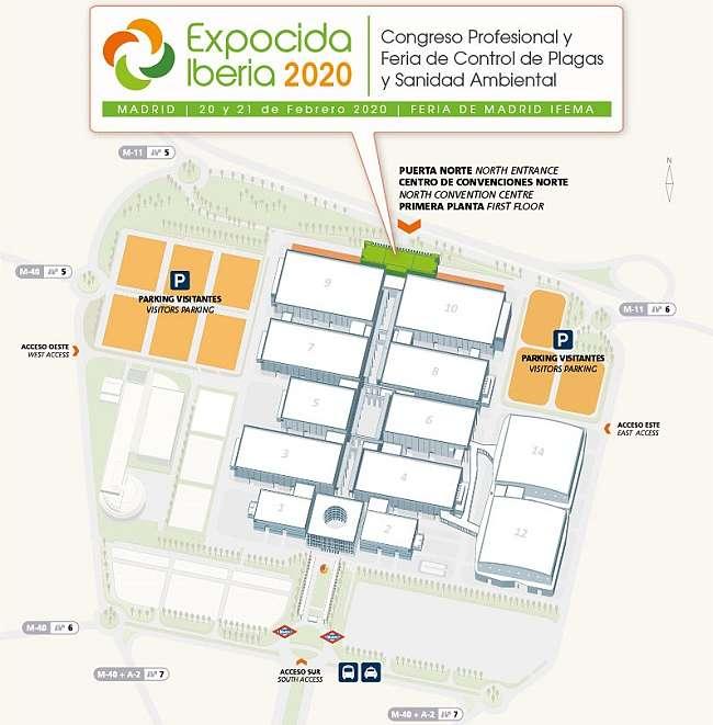 IFEMA_plano_acceso_Expocida-Plaguiplan-Control-de-Plagas-en-Madrid